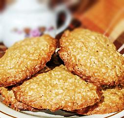 Как приготовить овсяное печенье с кокосовой стружкой:
